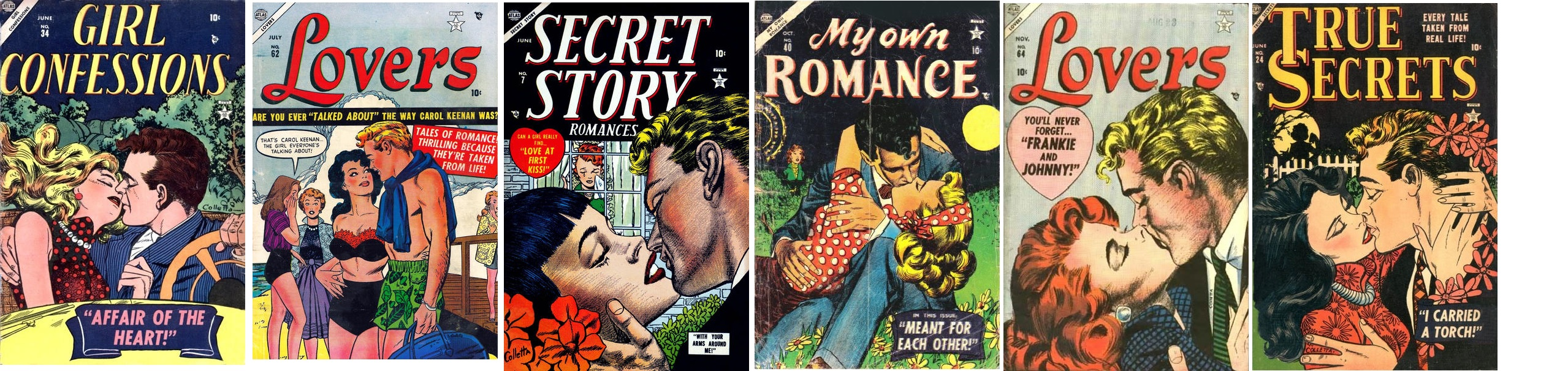 Vince Colletta Romance Art