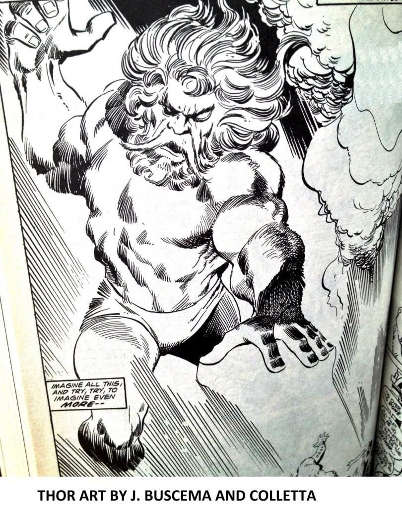 ODIN ART BY JOHN BUSCEMA AND VINCE COLLETTA