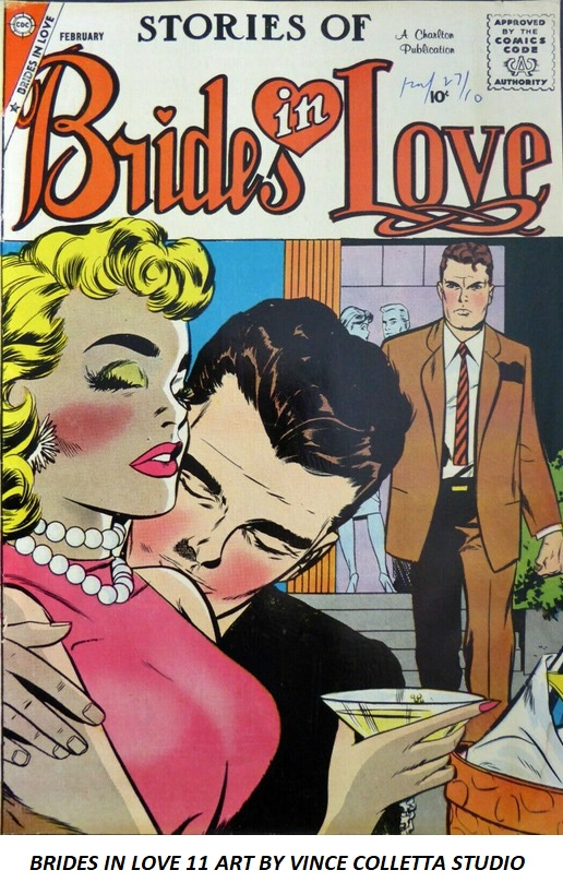 Brides In Love 11 Art by Vince Colletta Studio