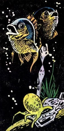 A fish illustrated by Vince Colletta
