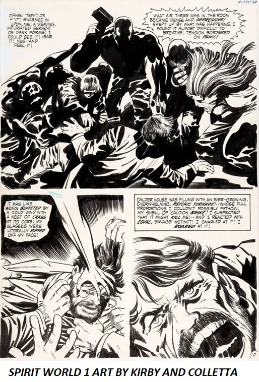 Spirit World 1 Art by Kirby and Colletta