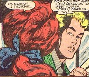 LOVE ROMANCES 42 ART BY VINCE COLLETTA