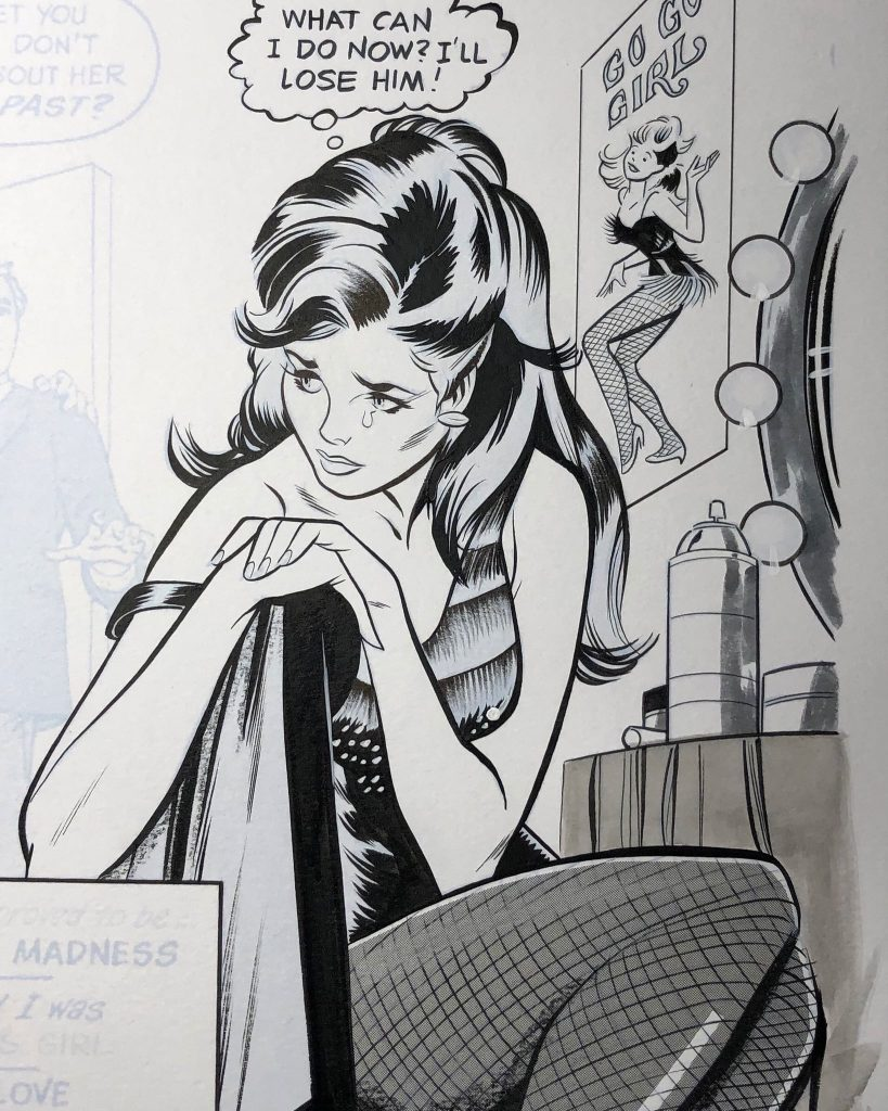 ROMANCE COMIC ART BY OKSNER AND COLLETTA