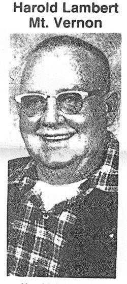 Harold Lambert, Mt. Vernon, IL