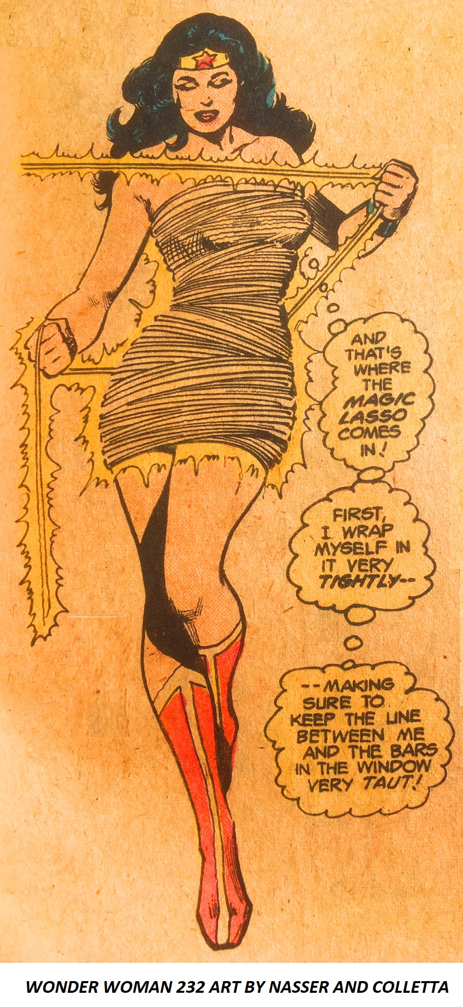 Wonder Woman #232 Art by Nasser and Colletta