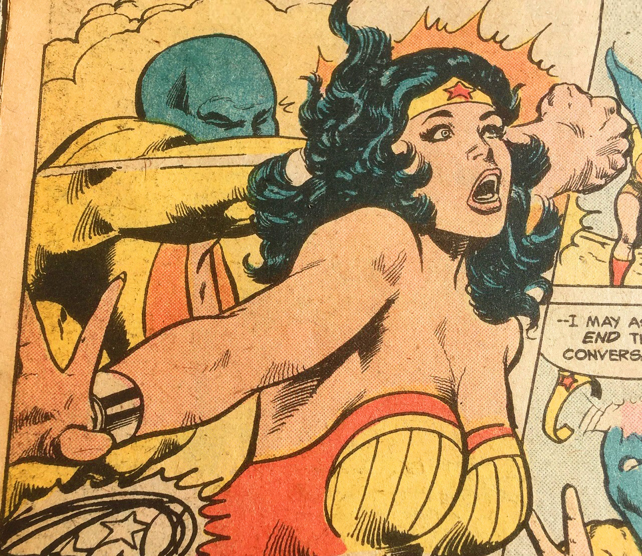 Wonder Woman 232 Art by Mike Nasser and Vince Colletta