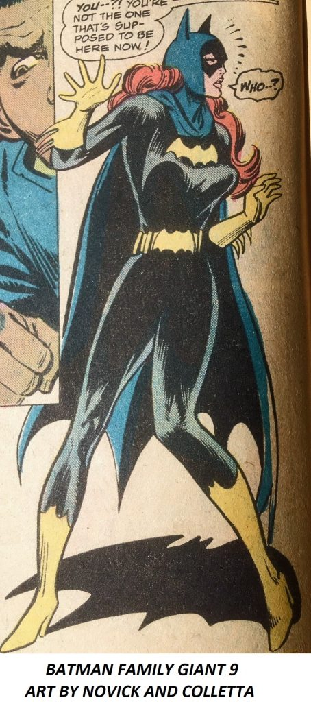 BATMAN FAMILY GIANT 9 ART BY NOVICK AND COLLETTA