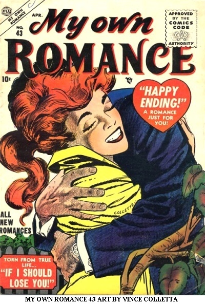 MY OWN ROMANCE 43 ART BY VINCE COLLETTA