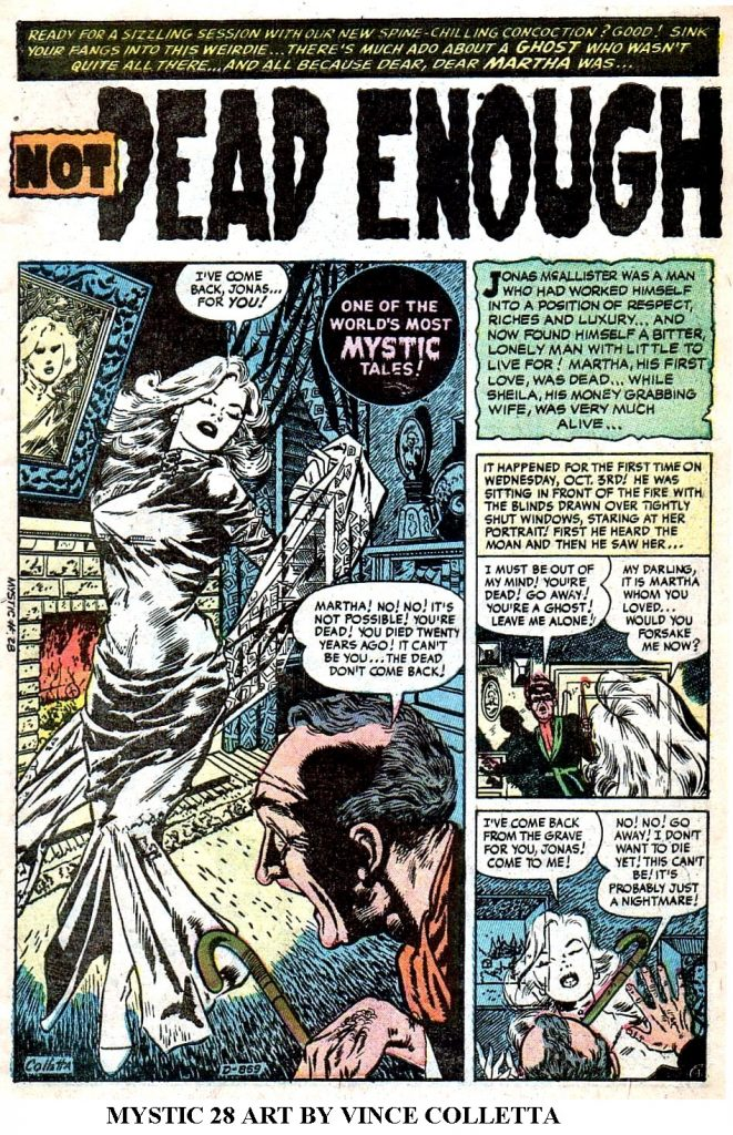 MYSTIC 28 ART BY VINCE COLLETTA