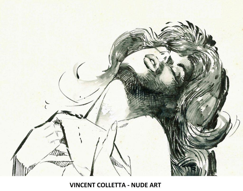 VINCE COLLETTA - NUDE ART