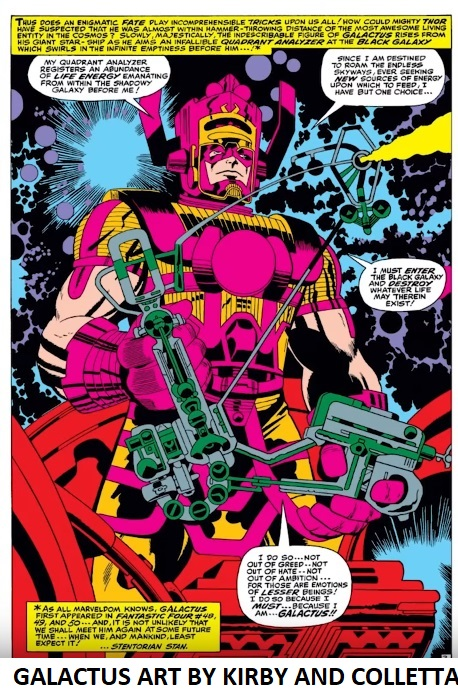 GALACTUS KIRBY COLLETTA