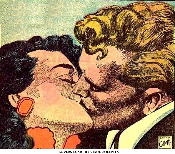 Lovers 64 Art by Vince Colletta